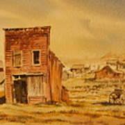 Bodie California Art Print