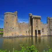 Bodium Castle Sussex Art Print