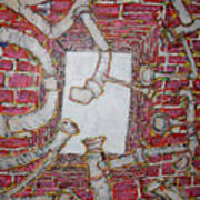 Bosque Powerhouse Art Print