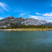 Bow Valley Campground Art Print