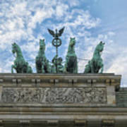 Brandenburger Gate, Berlin Art Print