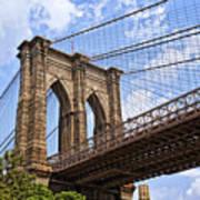 Brooklyn Bridge Ny Art Print