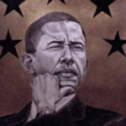Brotha President Art Print