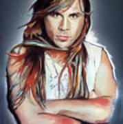 Bruce Dickinson Art Print