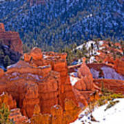 Bryce Canyon N.p. Art Print