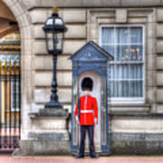 Buckingham Palace Queens Guard Art Print