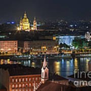 Budapest, Danube River, Hungary Art Print
