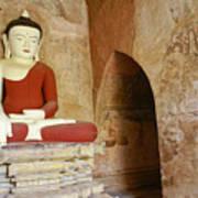 Buddha In A Niche Art Print