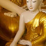 Buddhas In Burma Art Print