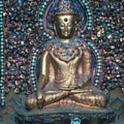 Buddhist Deity Art Print