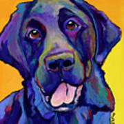 Buddy Print by Pat Saunders-White