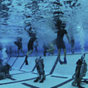 Buds Students Participate In Underwater Art Print