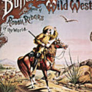 Buffalo Bill: Poster, 1893 Art Print