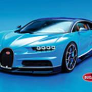 Bugatti Chiron 30 Art Print