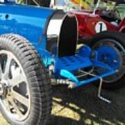 Bugatti Racer Art Print