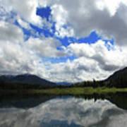 Bull Lake Reflection Art Print