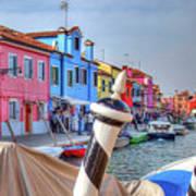 Burano Venice Italy Art Print