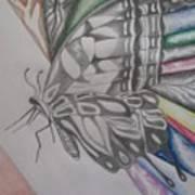 Butterfly Light Art Print