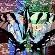 Butterfly Pet Art Print