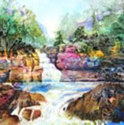 Buttermilk Falls IIi Art Print by Patricia Allingham Carlson