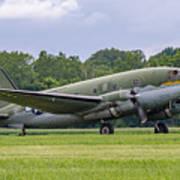 C-46 Commando Tinker Belle Art Print