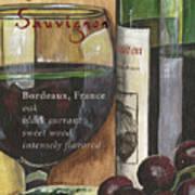 Cabernet Sauvignon Art Print