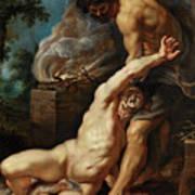 Cain Slaying Abel Art Print