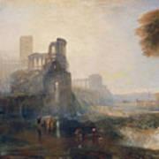 Caligula's Palace And Bridge Art Print
