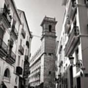 Calle Serranos In Valencia Art Print