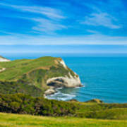 Cape Farewell Able Tasman National Park Art Print