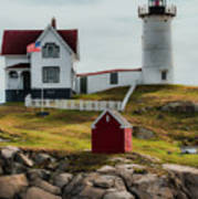 Cape Neddick Lighthouse 4 Art Print