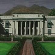 Capitol Building Negros Oriental Art Print
