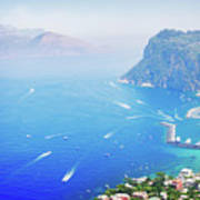 Capri Island, Italy Art Print