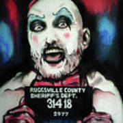 Captain Spaulding Art Print