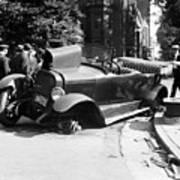 Car Accident, C1919 Art Print