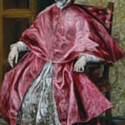 Cardinal Fernando Nino De Guevara Art Print