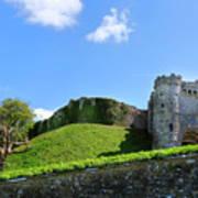 Carisbrooke Castle - Isle Of Wight Art Print