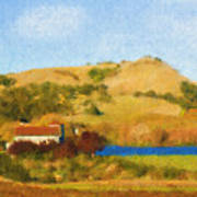 Carneros Valley Art Print