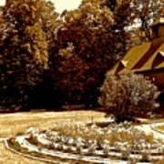 Carriage House Garden Art Print