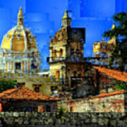 Cartagena Colombia Art Print