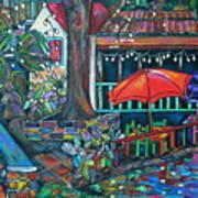Casa Rio Art Print by Patti Schermerhorn