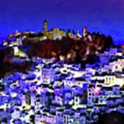 Casares By Night Art Print
