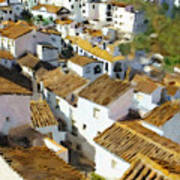 Casares Rooftops Art Print