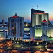 Casinos Atlantic City  Art Print