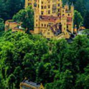 Castle Hohenschwangau Art Print