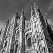 Cathedral Of Milan Art Print