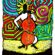 Cello Soloist Art Print