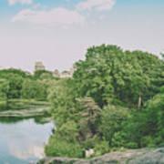 Central Park In Summer Art Print