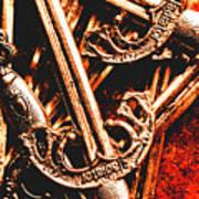Centurion Of Battle Art Print