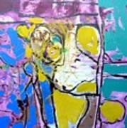 Monkey - Challenge 2017 Find A Cure - Mental Illness  Www.gracedivine.com Art Print